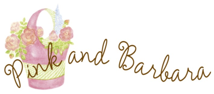 Logo Pink and Barbara typepad