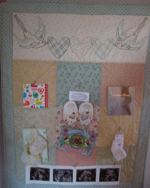 Baby Bird Quilt 011