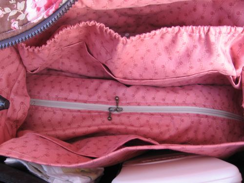Quilted Weekend Bag